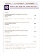 Indian Journal of Asian Affairs