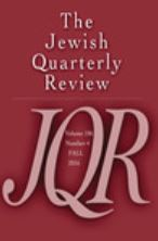 The Jewish Quarterly Review