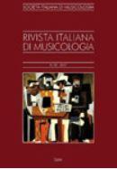 Revista Italiana di Musicologia
