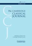 The Cambridge Classical Journal